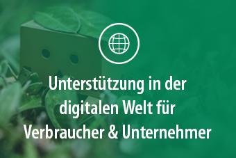 Foto Unterstützung in der digitalen Welt für Verbraucher und Unternehmer